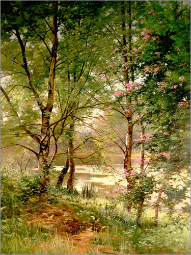 Ernest Parton - In a Fairy Woodland