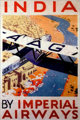 India tour with Imperial Airways