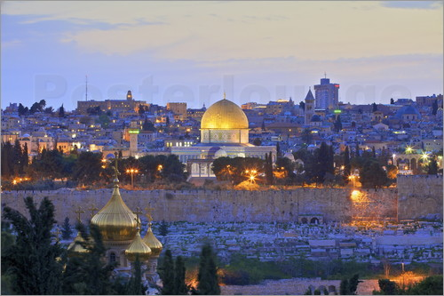 Neil Farrin - Jerusalem with Dome of the Rock