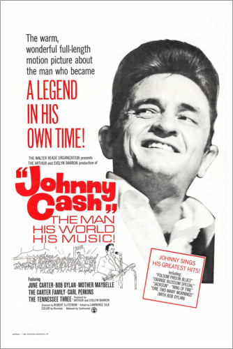Poster JOHNNY CASH-THE MAN