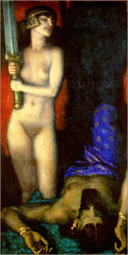 Franz von Stuck - Judith and Holofernes