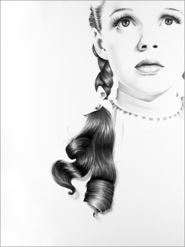 Ileana Hunter - Judy Garland Portrait