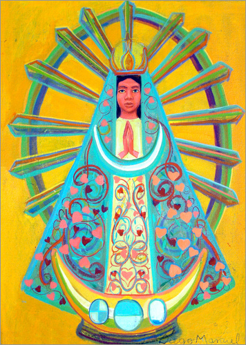 Poster Virgin of Luján I