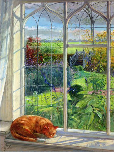 Timothy Easton - Cat in the Window, Summer