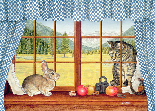 Poster Rimrock Cottontail