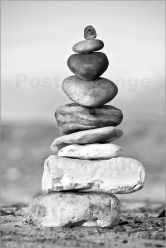 Poster Pebble tower