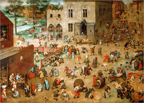 Pieter Brueghel d.Ä. - Children's Games