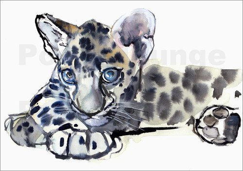Poster Little Leopard