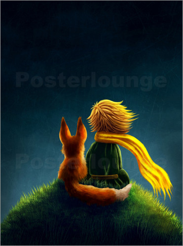 posters affiches de little prince posterlounge. Black Bedroom Furniture Sets. Home Design Ideas
