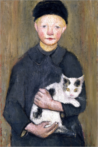 Paula Modersohn-Becker - Boy with a cat
