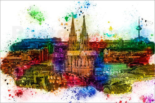 Peter Roder - Cologne Skyline Cologne Cathedral