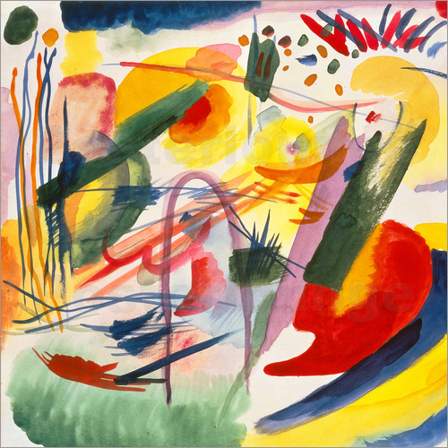 Wassily Kandinsky - Composition without title