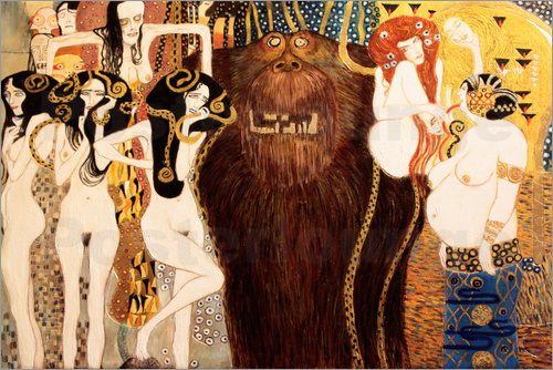Gustav Klimt - forces of evil 2