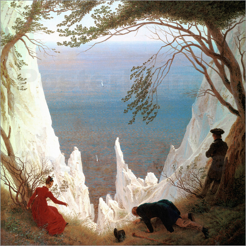 Caspar David Friedrich - White Cliffs of Ruegen