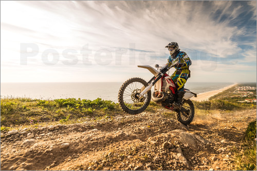 Poster Coast trip with the Enduro