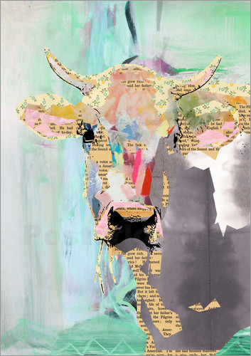 Poster Cow Collage