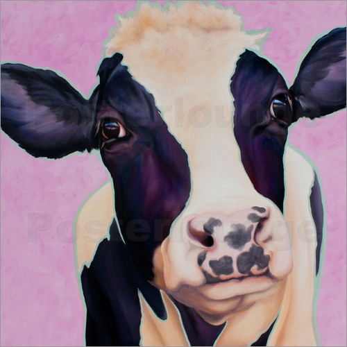 Poster Cow Lotte