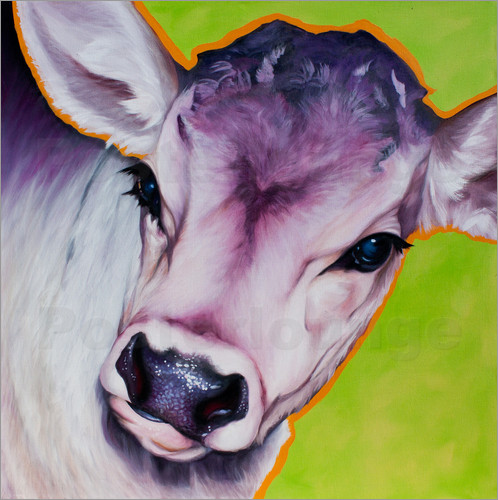 Renate Berghaus - cow pretty Betty