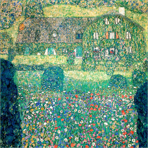 Gustav Klimt - Country house on Attersee lake