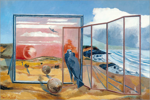 Paul Nash - Landscape from a Dream