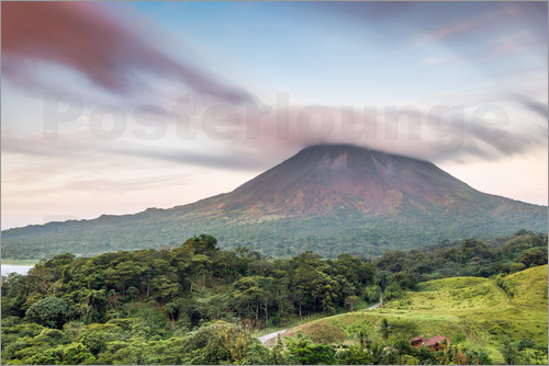 Matteo Colombo - Landscape: Arenal volcano at sunset, Costa Rica