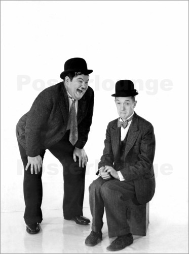 Poster Laurel and Hardy