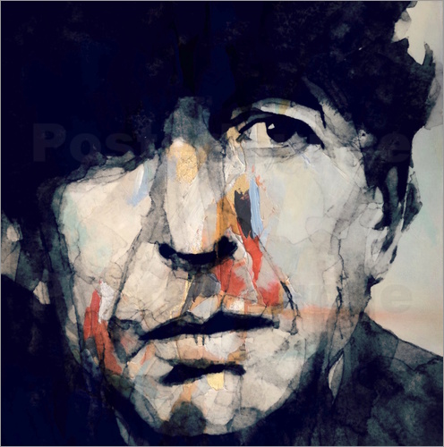 Poster Leonard Cohen   Hey That's No Way To Say Goodbye