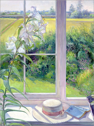 Timothy Easton - Reading corner in the window, detail