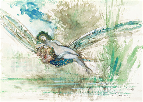 Gustave Moreau - Dragonfly