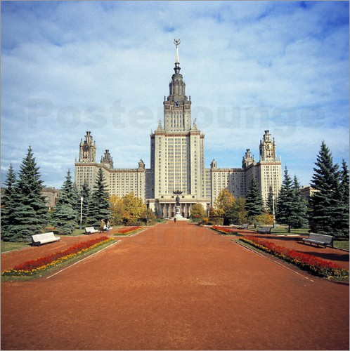 Poster Moscow State University