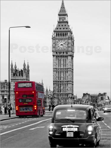 Poster London Impressions