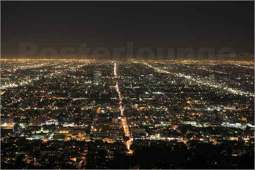 Wendy Connett - Los Angeles at night