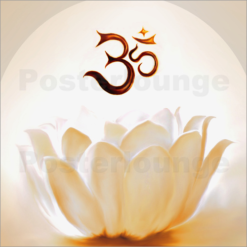 Christine Ganz - Lotus with Om