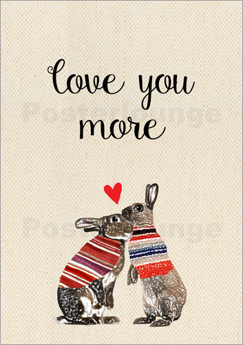 Poster Love you more