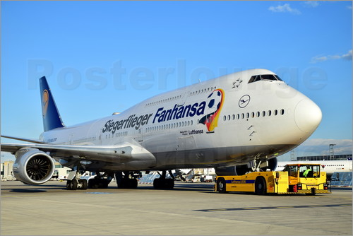 HADYPHOTO by Hady Khandani - LUFTHANSA BOEING B747 8 D ABYI SIEGERFLIEGER ON TOW