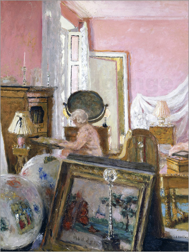 Edouard Vuillard - Madame Hessel at Clayes castle