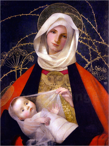 Marianne Stokes - Madonna and Child