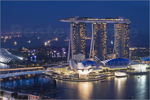 Gabrielle & Michel Therin-Weise - Marina Bay Sands Hotel
