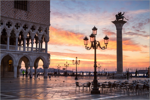 Matteo Colombo - St Mark's square at sunrise, Venice, Italy
