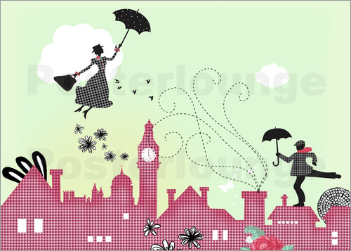 Poster Mary Poppins London