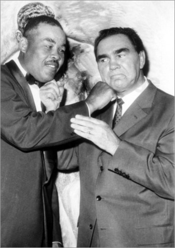 Max Schmeling and Joe Louis