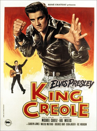 Poster King Creole