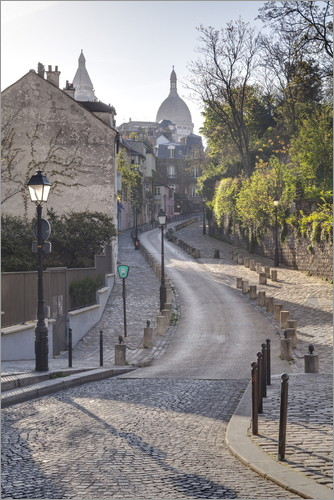 Julian Elliott - Montmartre with the Sacré Coeur