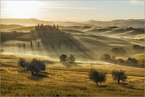Frank Fischbach - Dawn in Tuscany, Italy