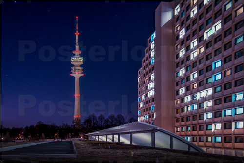 Hannes Cmarits - München - Olympic tower and village