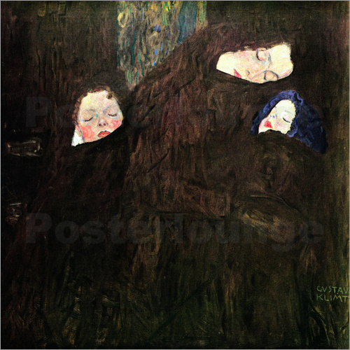 Gustav Klimt - Mother with children