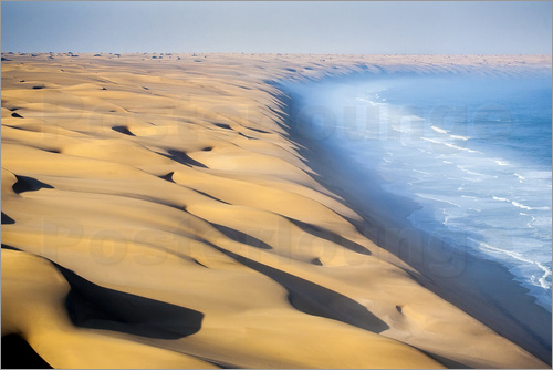 Poster Namib Desert on the Atlantic