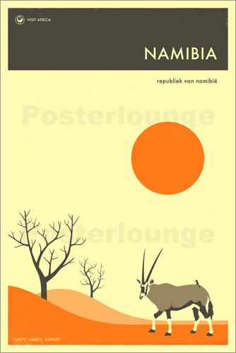 Poster Namibia Travel Poster