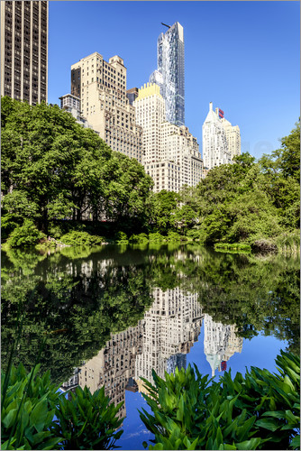 newfrontiers photography - New York City - Central Park South (The Pond)