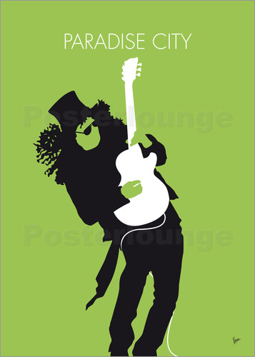 chungkong - No036 MY GUNS AND ROSES Minimal Music poster